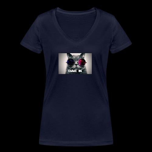 cool wallpaper 1 Fotor - Ekologisk T-shirt med V-ringning dam från Stanley & Stella