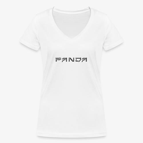 PANDA 1ST APPAREL - Women's Organic V-Neck T-Shirt by Stanley & Stella
