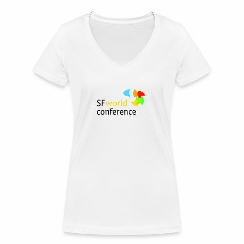 SFworldconference T-Shirts - Frauen Bio-T-Shirt mit V-Ausschnitt von Stanley & Stella