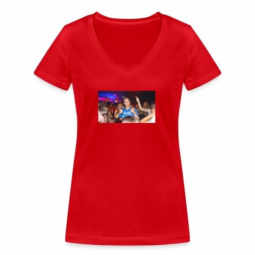 Thijstzj - Vrouwen bio T-shirt met V-hals van Stanley & Stella