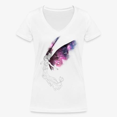 Grace - Økologisk Stanley & Stella T-shirt med V-udskæring til damer