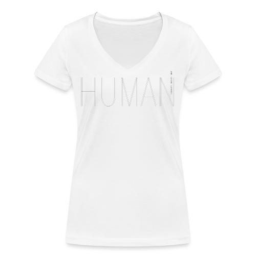 Human Collection 1.0 - Ekologisk T-shirt med V-ringning dam från Stanley & Stella