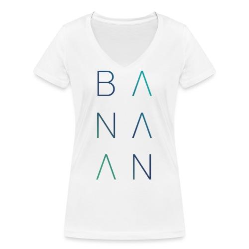 BANAAN 02 - Vrouwen bio T-shirt met V-hals van Stanley & Stella