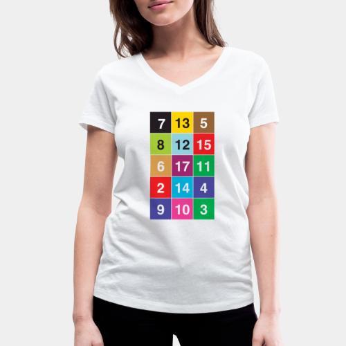 13 Nuancen von Zürich KIDS - Frauen Bio-T-Shirt mit V-Ausschnitt von Stanley & Stella