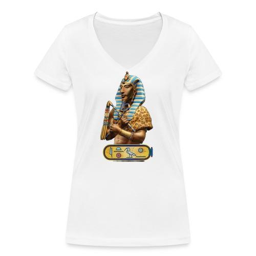 Echnaton - Ach-en-Aton - Der Sohn des ATON - Frauen Bio-T-Shirt mit V-Ausschnitt von Stanley & Stella