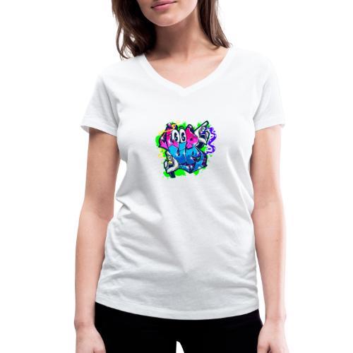 LOOP UP Street style - Frauen Bio-T-Shirt mit V-Ausschnitt von Stanley & Stella