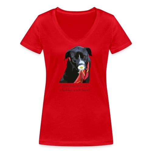Johnny Flower - Frauen Bio-T-Shirt mit V-Ausschnitt von Stanley & Stella