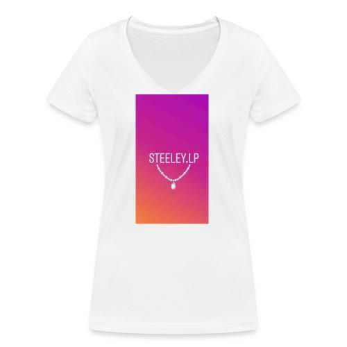 SteeleyLP👑 - Frauen Bio-T-Shirt mit V-Ausschnitt von Stanley & Stella
