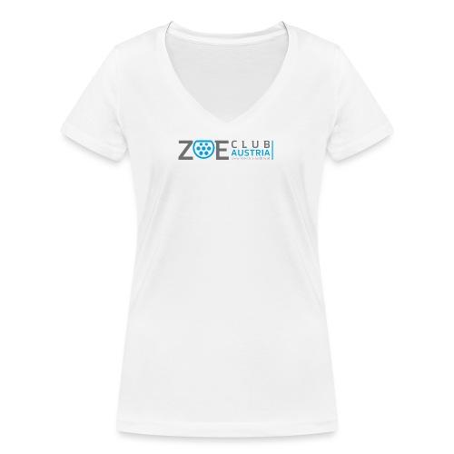 ZOE Club Austria QUERGREY - Frauen Bio-T-Shirt mit V-Ausschnitt von Stanley & Stella