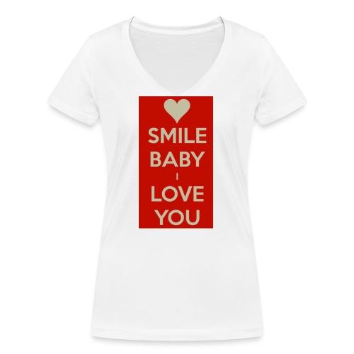 13EA371C 7A76 4027 BF26 429EE3809D0D - Ekologisk T-shirt med V-ringning dam från Stanley & Stella