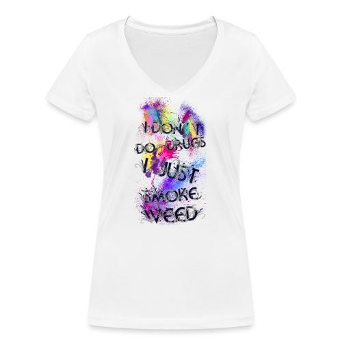 Just smoke - Frauen Bio-T-Shirt mit V-Ausschnitt von Stanley & Stella