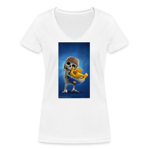 TheClashGamer t-shirt - Frauen Bio-T-Shirt mit V-Ausschnitt von Stanley & Stella