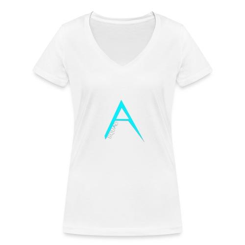 ANGISTEF SQUAD LOGO - Ekologisk T-shirt med V-ringning dam från Stanley & Stella