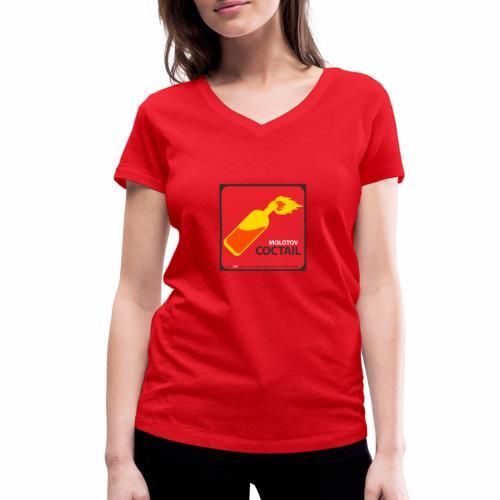 COCKTAIL MOLOTOV - T-shirt bio col V Stanley & Stella Femme