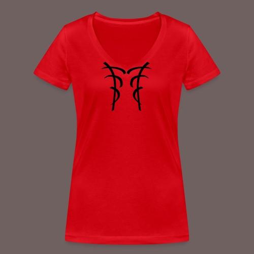 GBIGBO zjebeezjeboo - Oriental - Bambou [Flex] - T-shirt bio col V Stanley & Stella Femme