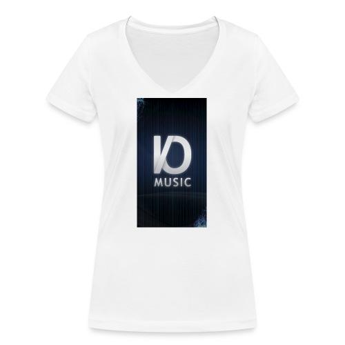 iphone6plus iomusic jpg - Women's Organic V-Neck T-Shirt by Stanley & Stella