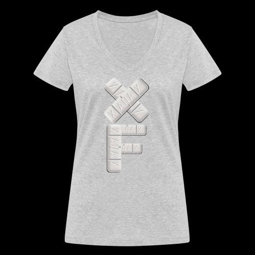 XF Xanax Logo - Frauen Bio-T-Shirt mit V-Ausschnitt von Stanley & Stella