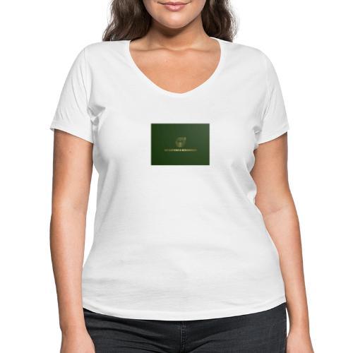 NM Clothing & Merchandise - Økologisk Stanley & Stella T-shirt med V-udskæring til damer