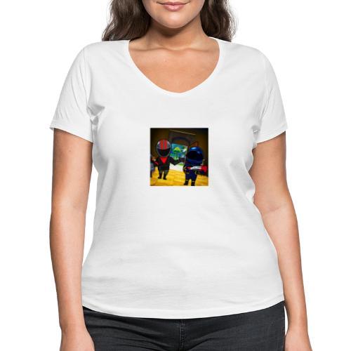gg - Ekologisk T-shirt med V-ringning dam från Stanley & Stella