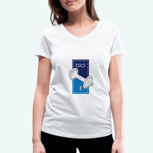 Bici - Frauen Bio-T-Shirt mit V-Ausschnitt von Stanley & Stella