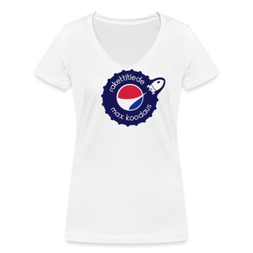 MAX korkki - Stanley & Stellan naisten v-aukkoinen luomu-T-paita