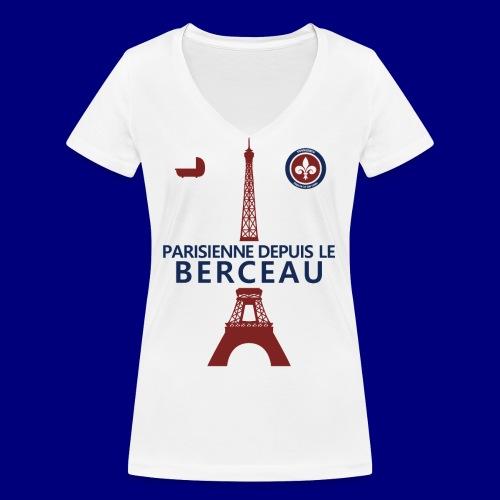 Parisienne - T-shirt bio col V Stanley & Stella Femme