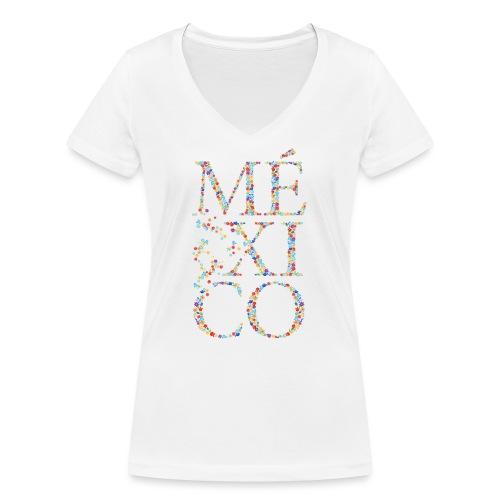 México - Frauen Bio-T-Shirt mit V-Ausschnitt von Stanley & Stella