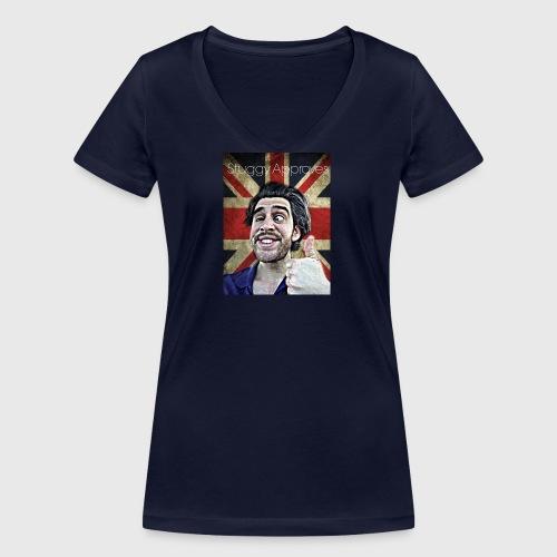 Stuggy approves - Women's Organic V-Neck T-Shirt by Stanley & Stella