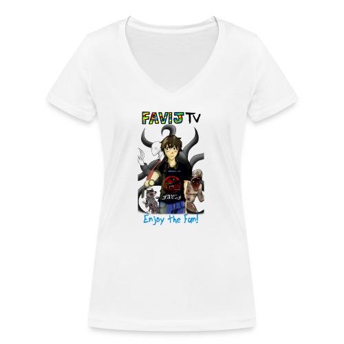 3173078 102989171 none orig png - T-shirt ecologica da donna con scollo a V di Stanley & Stella