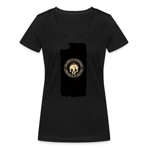 iphonekuoret2 - Stanley & Stellan naisten v-aukkoinen luomu-T-paita