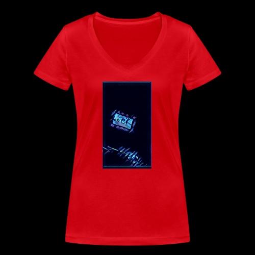 It's Electric - Women's Organic V-Neck T-Shirt by Stanley & Stella