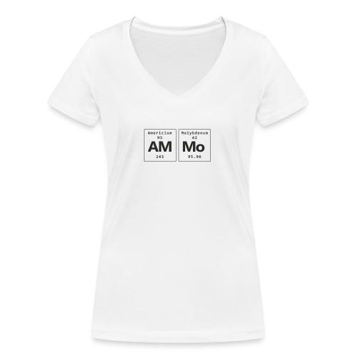 Ammo - Økologisk Stanley & Stella T-shirt med V-udskæring til damer