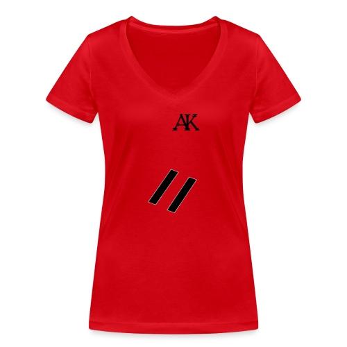 design tee - Vrouwen bio T-shirt met V-hals van Stanley & Stella