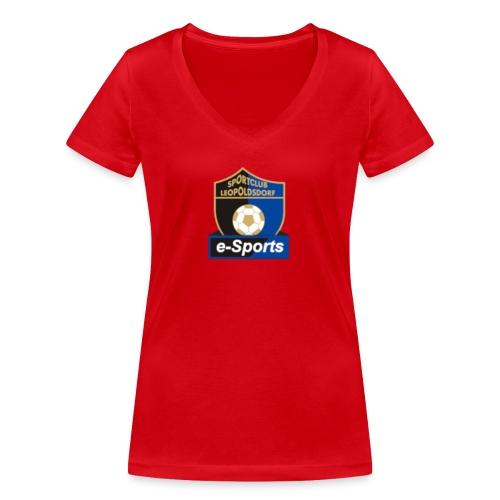 Unbenannt - Frauen Bio-T-Shirt mit V-Ausschnitt von Stanley & Stella