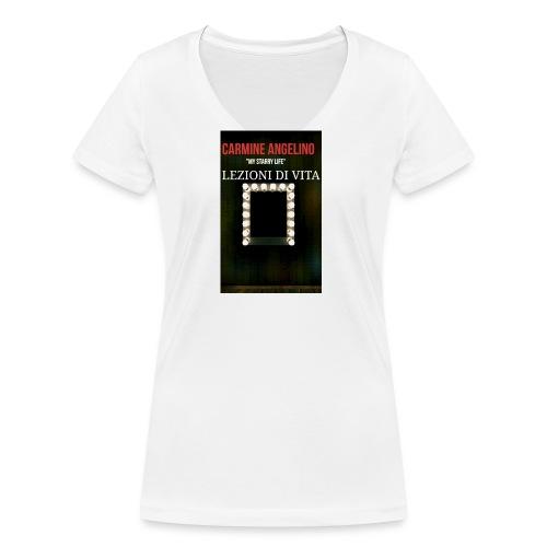 2017 07 22 03 08 59 - T-shirt ecologica da donna con scollo a V di Stanley & Stella