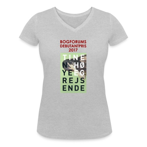 T shirt Høeg final2 png - Økologisk Stanley & Stella T-shirt med V-udskæring til damer