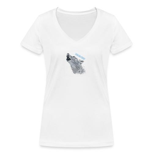 Rudelchef - Frauen Bio-T-Shirt mit V-Ausschnitt von Stanley & Stella