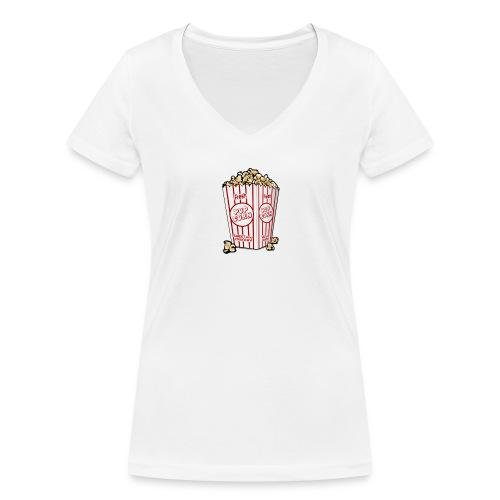Popcorn trøje   ML Boozt   - Økologisk Stanley & Stella T-shirt med V-udskæring til damer