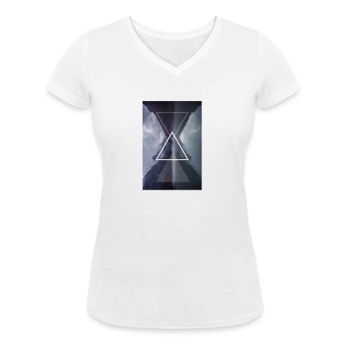 SHAPE - Ekologiczna koszulka damska z dekoltem w serek Stanley & Stella