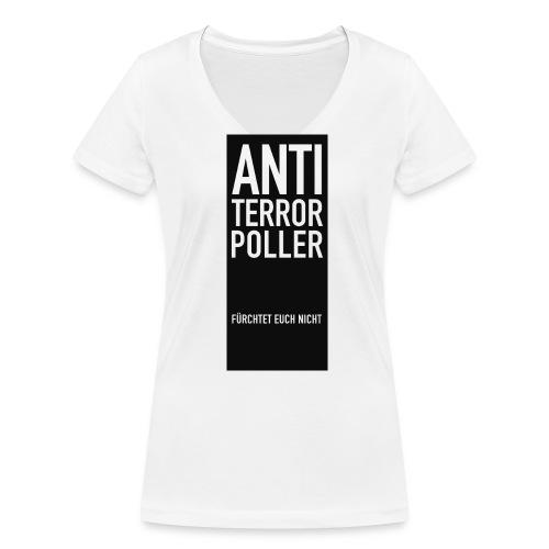 komplettATPoller png - Frauen Bio-T-Shirt mit V-Ausschnitt von Stanley & Stella