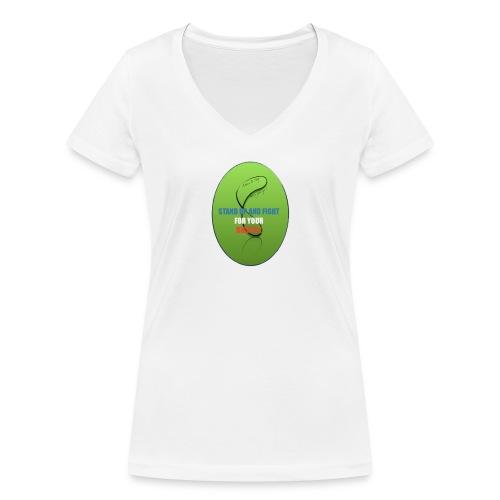 unnamed_opt-png - T-shirt bio col V Stanley & Stella Femme