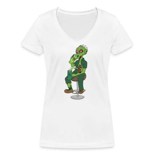 St. Patrick - Women's Organic V-Neck T-Shirt by Stanley & Stella