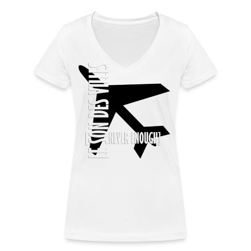 Le Son Des Villes Avion - T-shirt bio col V Stanley & Stella Femme