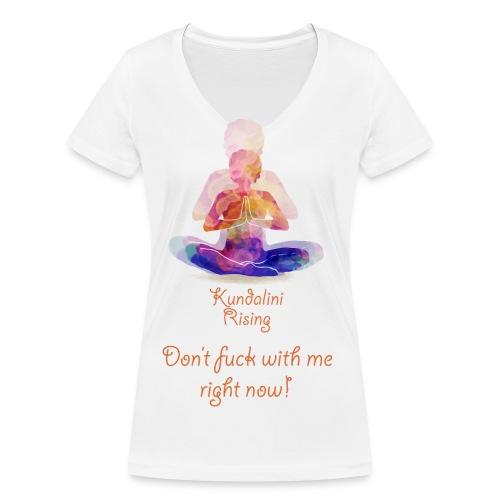 Kundalini Rising - Women's Organic V-Neck T-Shirt by Stanley & Stella