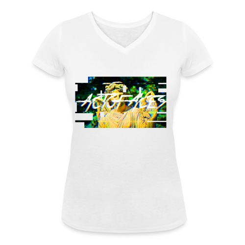 Act of Aces T-Shirt - Frauen Bio-T-Shirt mit V-Ausschnitt von Stanley & Stella