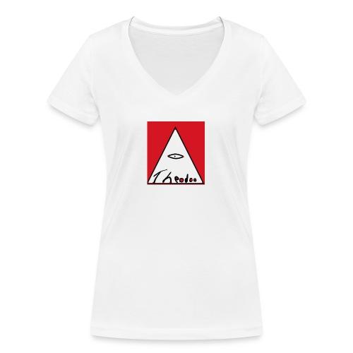theodoo 1 - Ekologisk T-shirt med V-ringning dam från Stanley & Stella