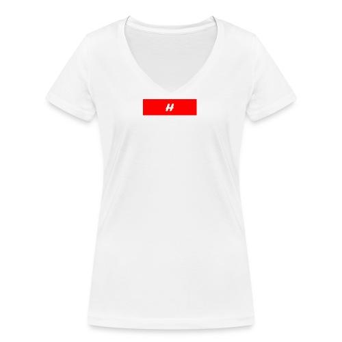 H - Økologisk T-skjorte med V-hals for kvinner fra Stanley & Stella