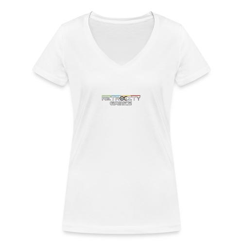 Casquette officielle - T-shirt bio col V Stanley & Stella Femme