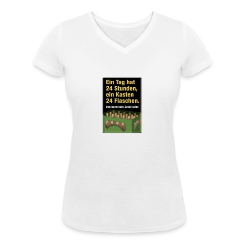 Bauern Sprüche - Frauen Bio-T-Shirt mit V-Ausschnitt von Stanley & Stella