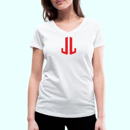 BodyTrainer JL - Stanley & Stellan naisten v-aukkoinen luomu-T-paita